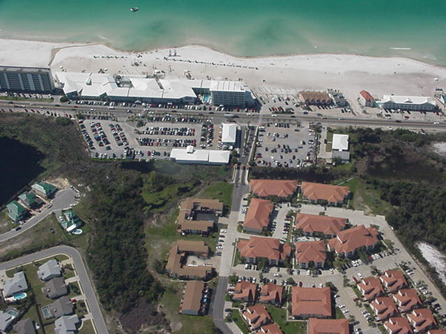 Aerial Unit To Beach Panama City Fl Real Estate