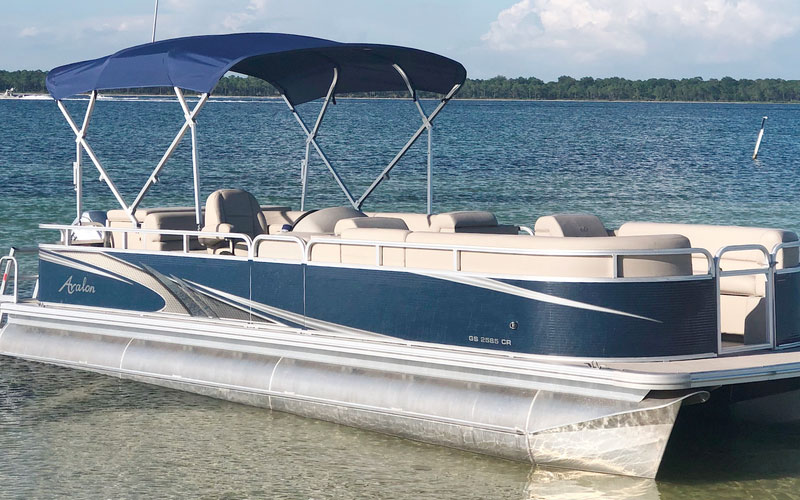 Salty Pontoons Pontoon Boat Rental in Panama City Beach, Fl